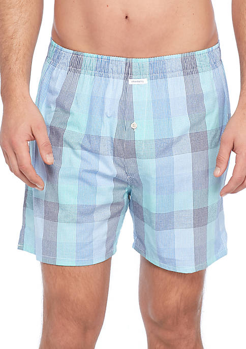 Crown & Ivy™ Broken Gingham Swim Shorts