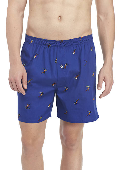 Crown & Ivy™ Football Player Boxers