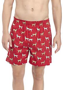 Reindeer Dog Holiday Boxers