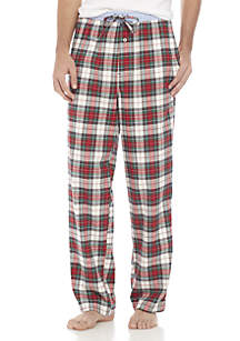 Flannel Plaid Lounge Pants