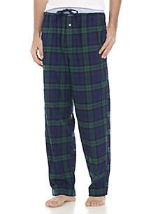 Plaid Stretch Flannel Sleep Pant