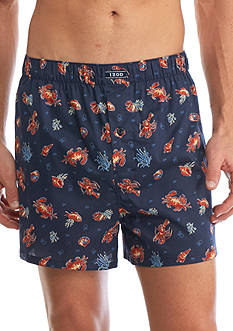 IZOD Lobsters Woven Boxers