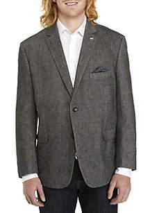 Big & Tall Multi Herringbone Sport Coat