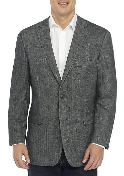Multi Herringbone Sport Coat