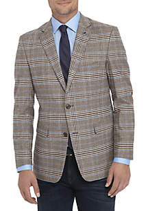 Plaid Stretch Sport Coat