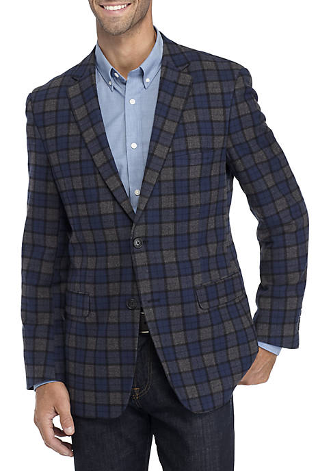 Crown & Ivy™ Brushed Cotton Sport Coat