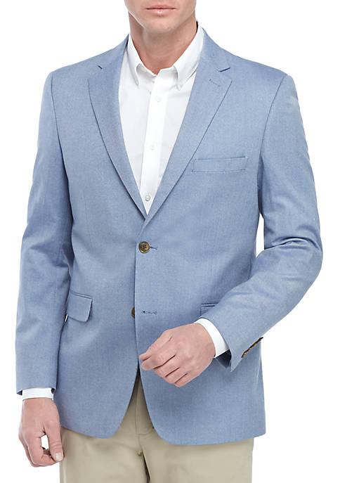 Blue Herringbone Sports Coat