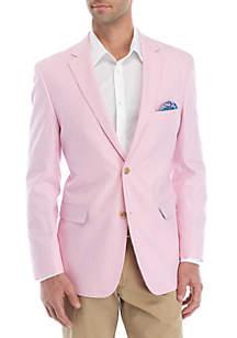 Crown & Ivy™ Pink Herringbone Sportcoat