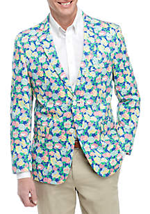 Crown & Ivy™ Bright Floral Sports Coat