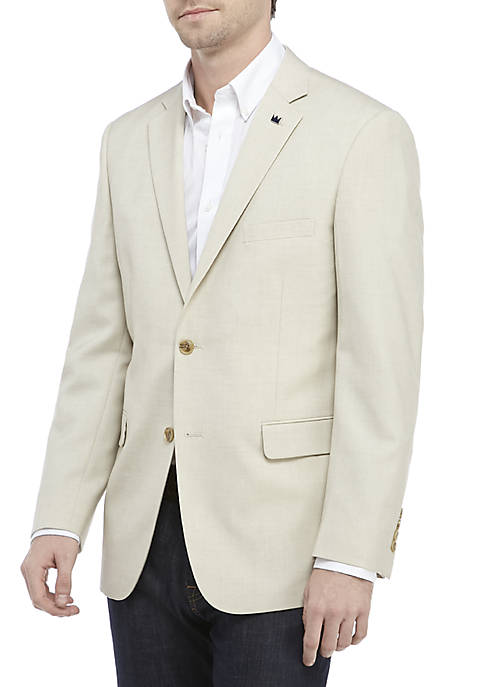 Crown & Ivy™ Tan Stretch Blazer