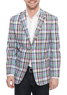 Crown & Ivy™ Plaid Stretch Sportcoat