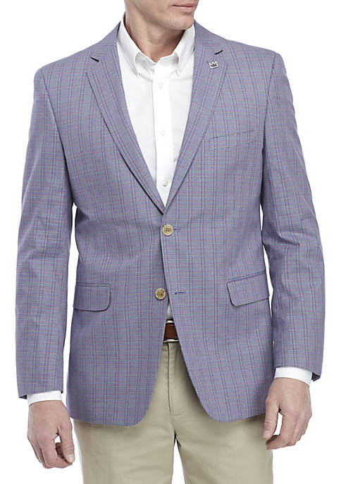 Crown & Ivy™ Multi Colored Tic Sports Coat