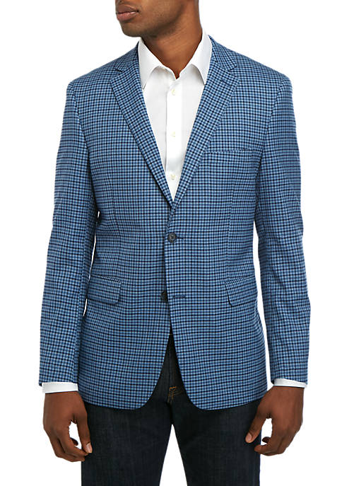 Crown & Ivy™ Mens Check Sport Coat