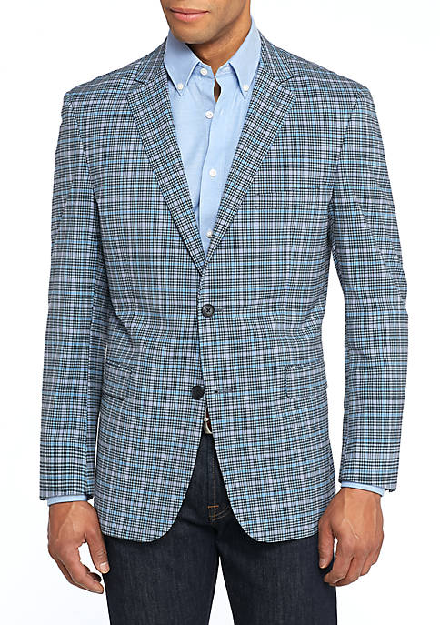 Crown & Ivy™ Motion Flex Plaid Sport Coat