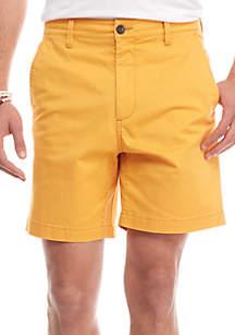 Stretch 7-in Twill Shorts