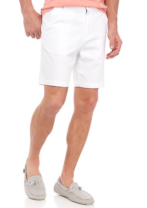 Crown & Ivy™ 7-in Elastic Waist Short Shorts