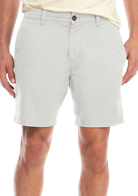 Crown & Ivy™ Mens Woven Flat Front Shorts