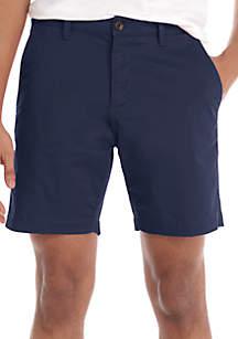 Men's Woven Flat Front Shorts