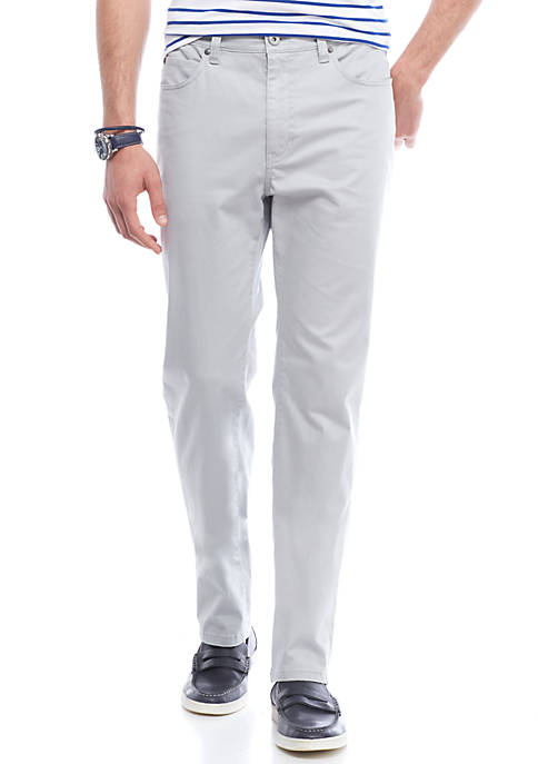 Crown & Ivy™ Stretch Sateen 5-Pocket Pants