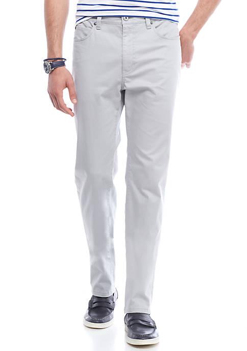 Crown & Ivy™ Stretch Sateen 5-Pocket Pants
