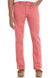 Stretch Sateen 5-Pocket Pants