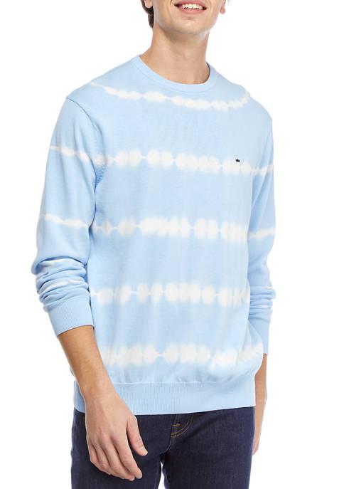 Crown & Ivy™ Long Sleeve Dip Dye Sweater