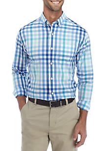 Long Sleeve Multi Button Down Shirt