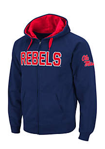 Ole Miss Rebels Full Zip Sweatshirt