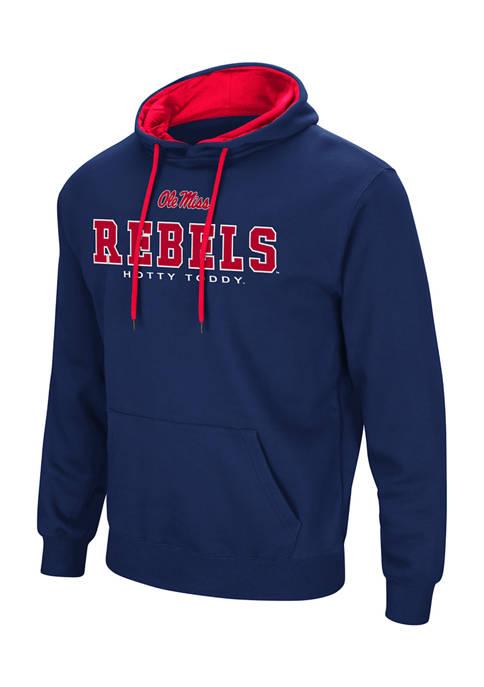 NCAA Ole Miss Rebels Embroidered Detail Hoodie