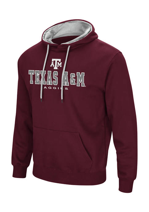 NCAA Texas A&M Aggies Embroidered Detail Hoodie