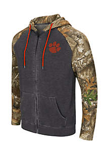 Clemson Tigers Squirrel Full Zip Hoodie