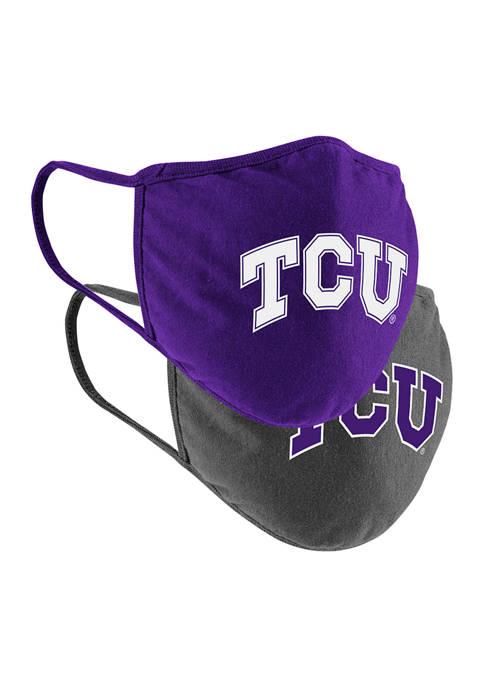 Colosseum Athletics Adult NCAA Collegiate Masks- 2 Pack