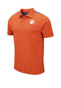 Colosseum Athletics Clemson Tigers Polo Shirt
