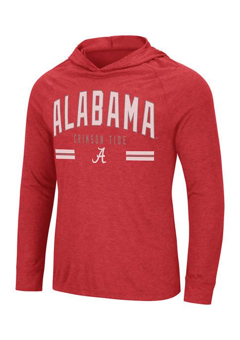 Colosseum Athletics NCAA Alabama Crimson Tide Hooded Long