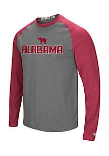 Alabama Crimson Tide Social Skills Raglan Tee