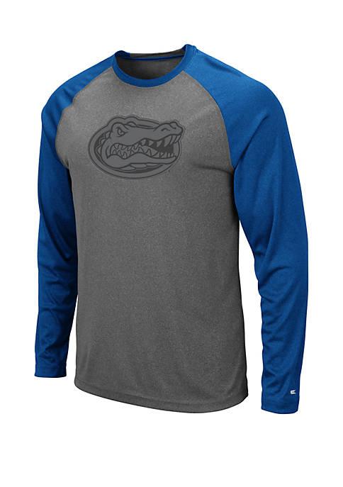 Colosseum Athletics Florida Gators Long Sleeve Raglan T