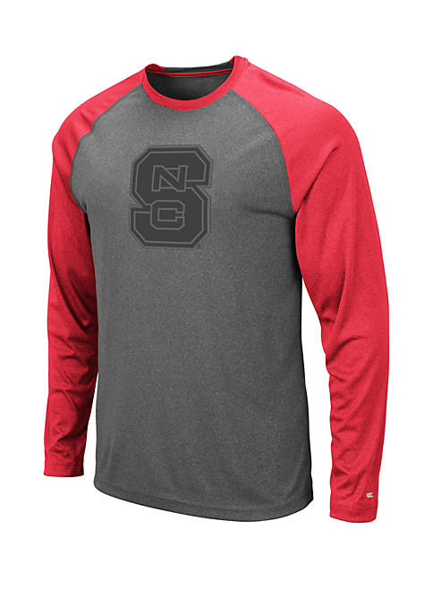 NC State Wolfpack Long Sleeve Raglan T Shirt