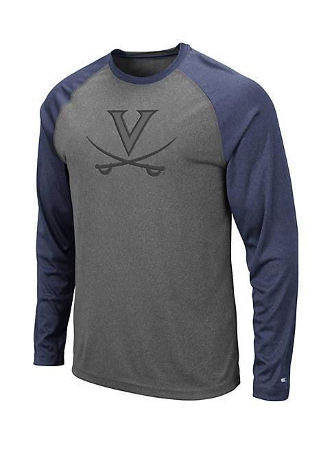 Virginia Cavaliers Long Sleeve Raglan T Shirt
