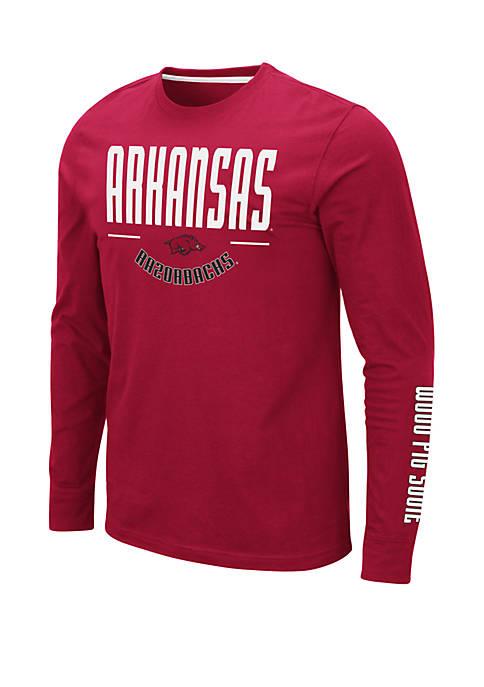 Colosseum Athletics NCAA Arkansas Razorbacks Streetcar Long