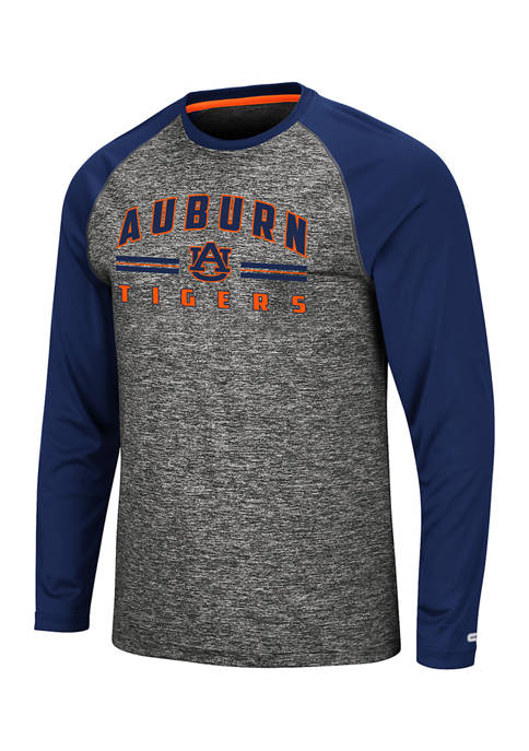 Colosseum Athletics NCAA Auburn Tigers Rubberized Print Raglan