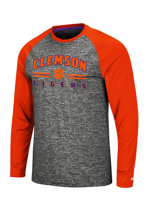 Colosseum Athletics Mens NCAA Clemson Tigers Long Sleeve