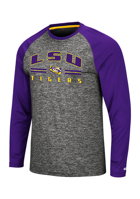 Colosseum Athletics Mens NCAA LSU Tigers Long Sleeve