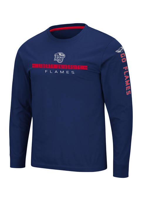 NCAA Liberty University Flames Blitzgiving Long Sleeve T-Shirt