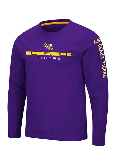 Colosseum Athletics NCAA LSU Tigers Blitzgiving Long Sleeve