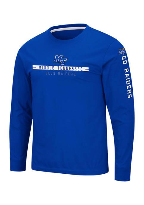 NCAA Middle Tennessee Blue Raiders Blitzgiving Long Sleeve T-Shirt