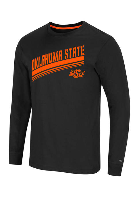 NCAA Oklahoma State Cowboys Step Long Sleeve Graphic T-Shirt