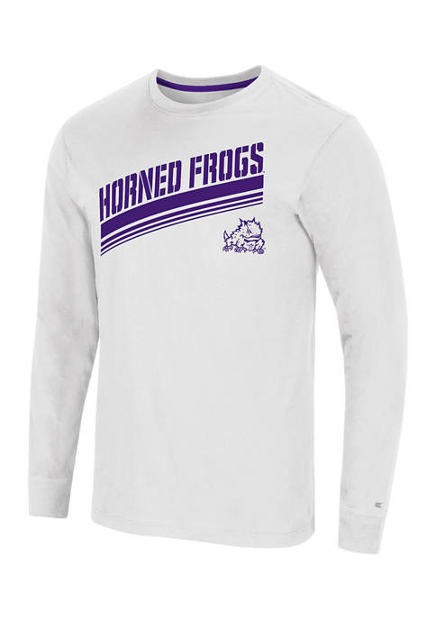 NCAA TCU Horned Frogs Step Long Sleeve Graphic T-Shirt