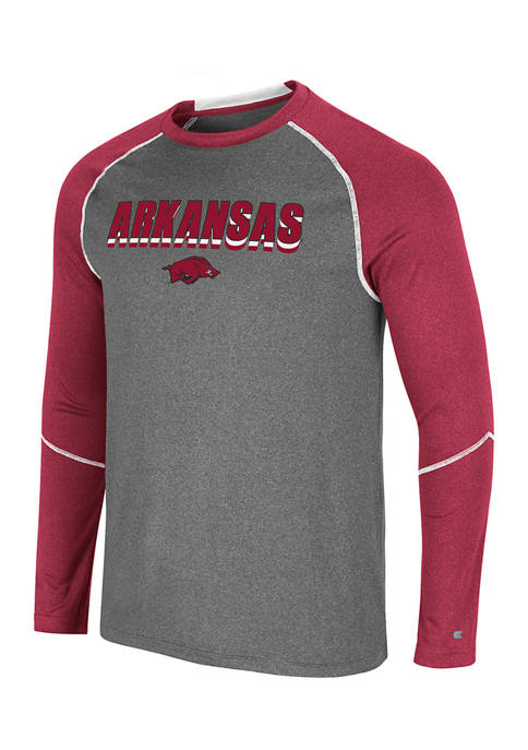 NCAA Arkansas Razorbacks George Long Sleeve Graphic T-Shirt