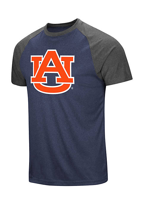 Colosseum Athletics Auburn Tigers The Heat Short Sleeve