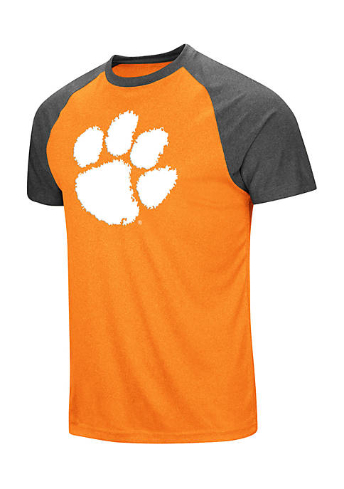 Colosseum Athletics Clemson Tigers The Heat Short Sleeve